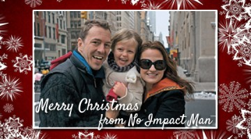 Colin Beavon Christmas Card