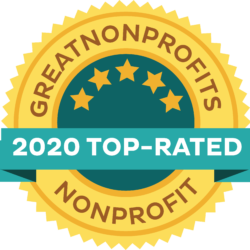 Great Nonprofits 2020 Badge