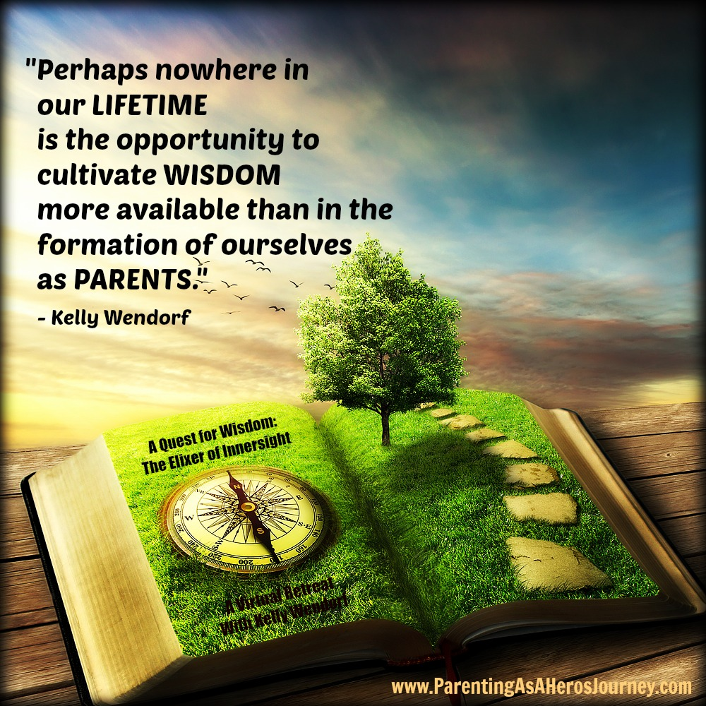 Join Kindred's Founder, Kelly Wendorf, on a Parenting As A Hero's Journey Virtual Retreat!